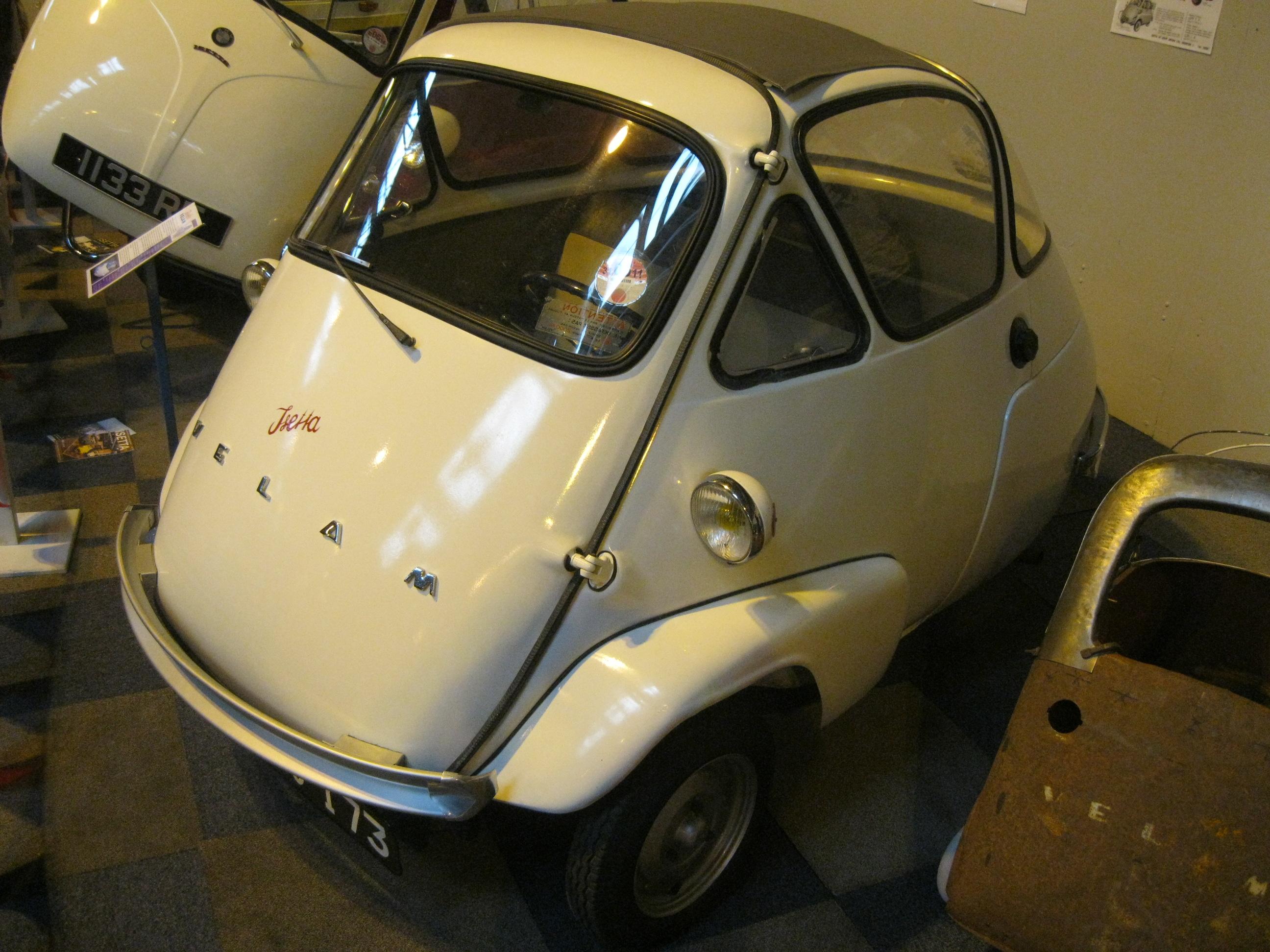 Velam_-Isetta_Bubble_Car_derivative_from_France