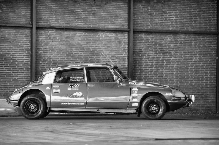 Citroen-Rally-car