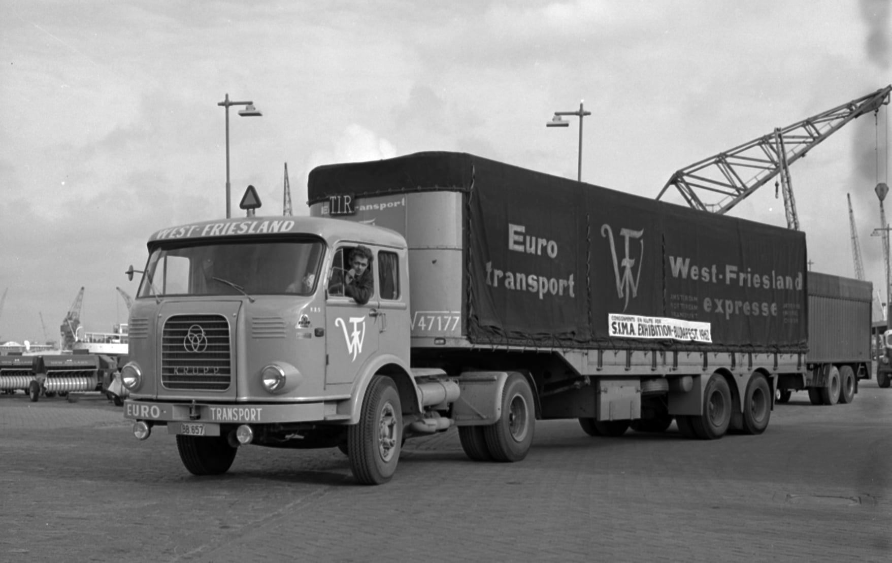 Krupp-SF-801-geladen-voor-Budapest--1962