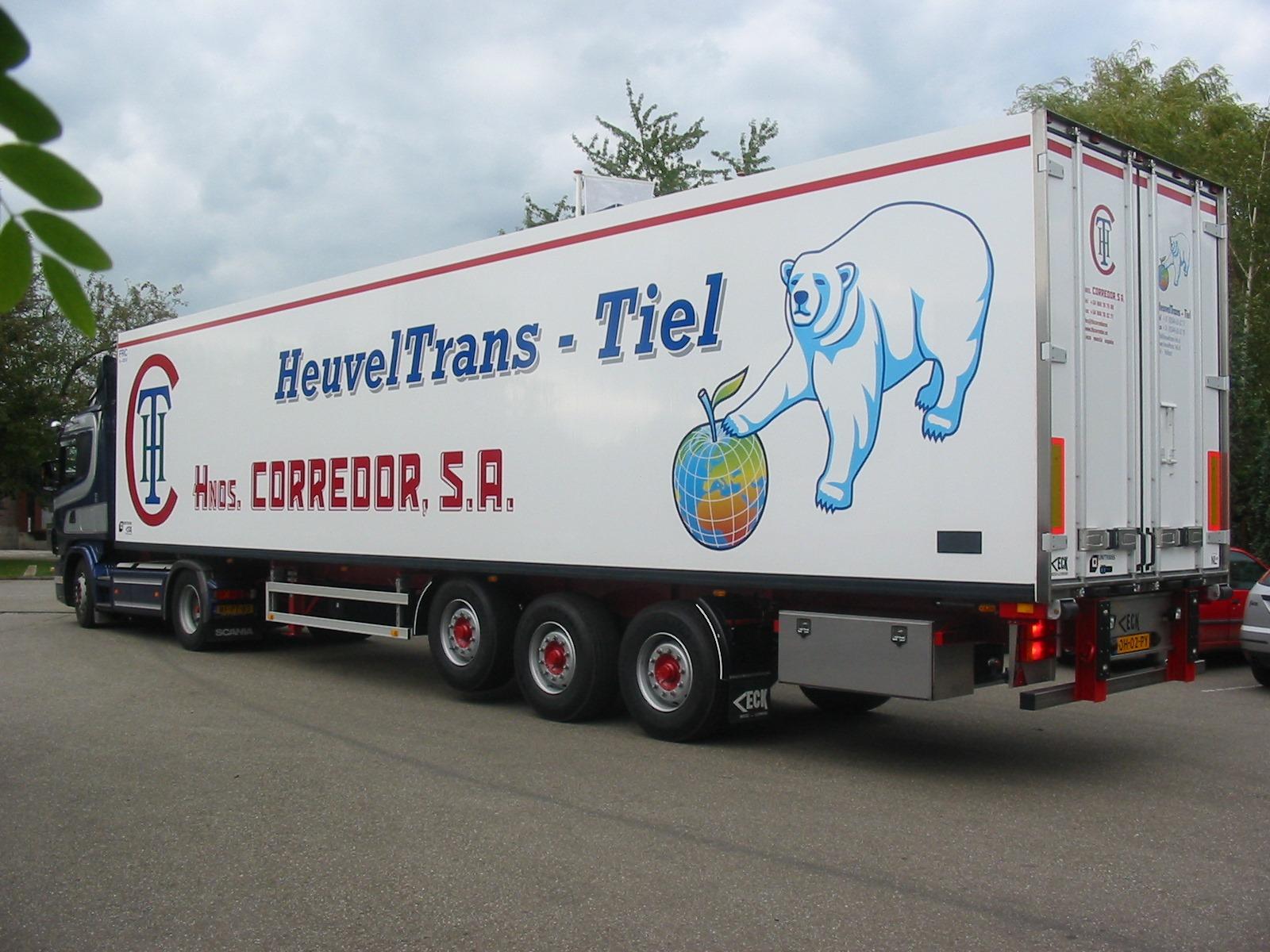 Scania-Eck-Trailer