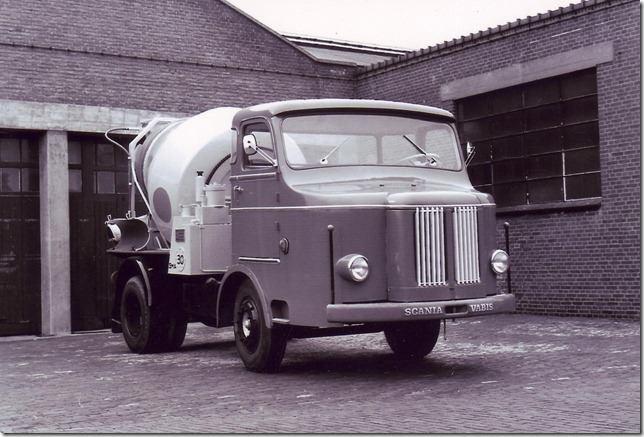 Scania-Mixer
