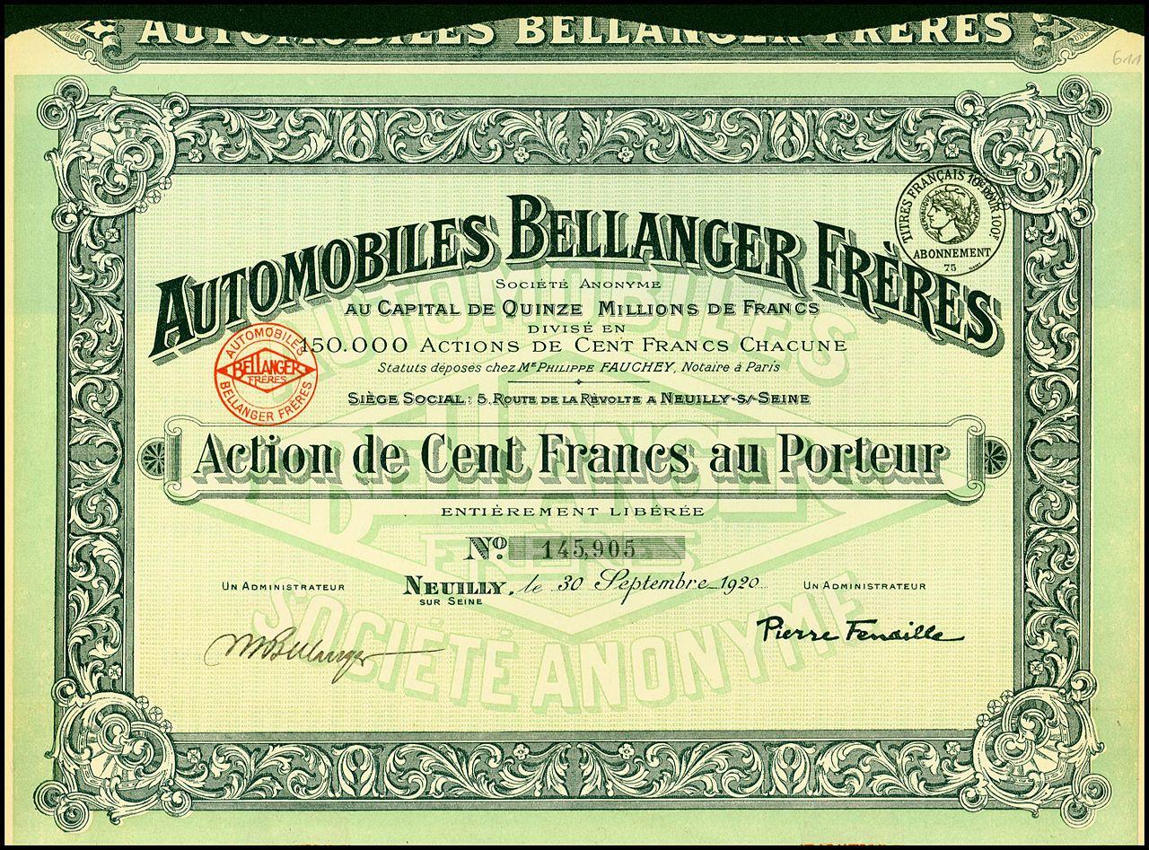 Automobiles_Bellanger_Freres_1920