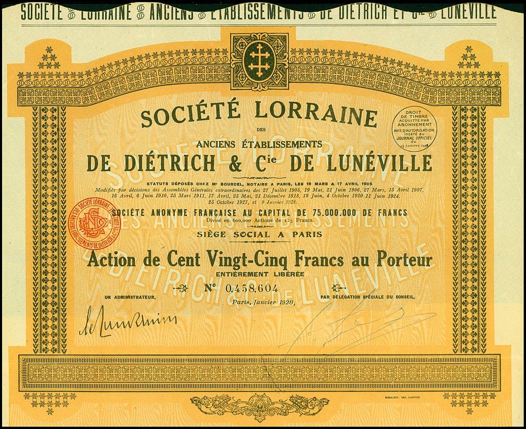 aandeel-_Cie_1928