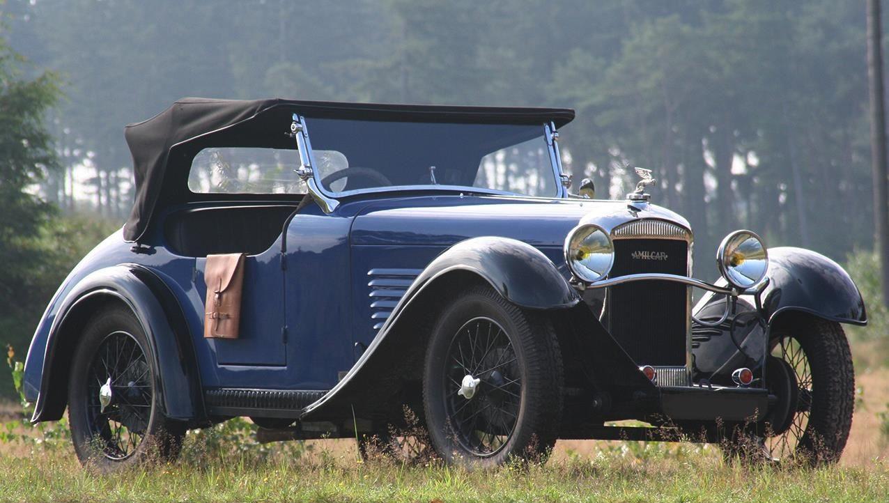 1934-Amilcar-M3-Roadstrar