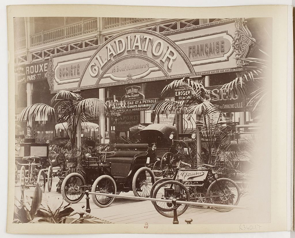 1896-Presentatie--Salon-du-Cycle-Paris
