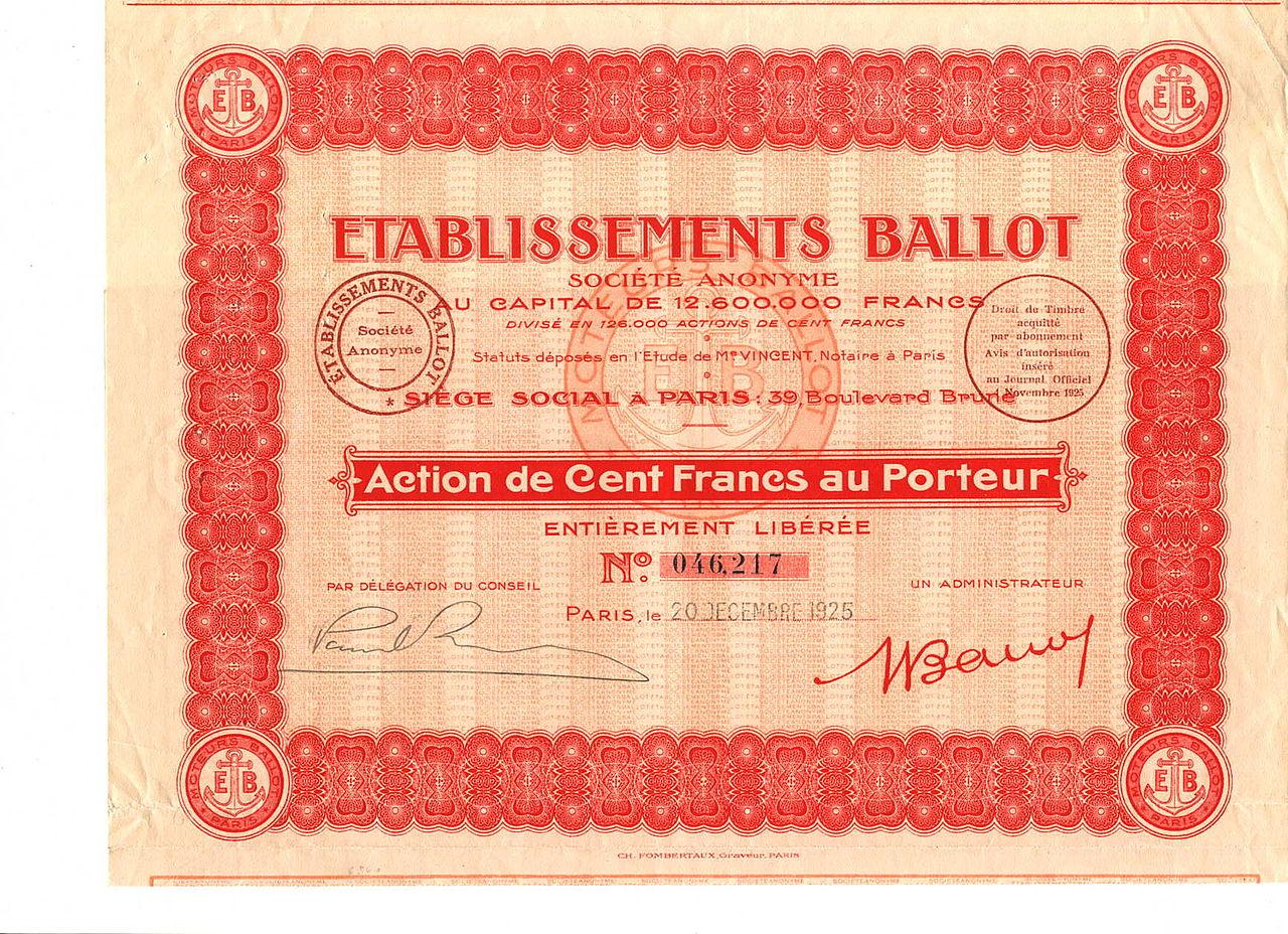 1925-BALLOT