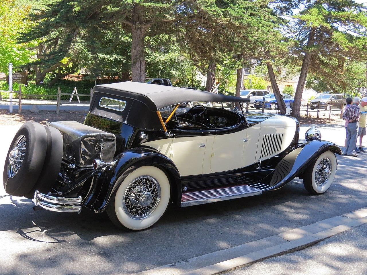 1931-Du-Pont-Model-H-Sport-Phaeton-door-Merrimac-Marshall