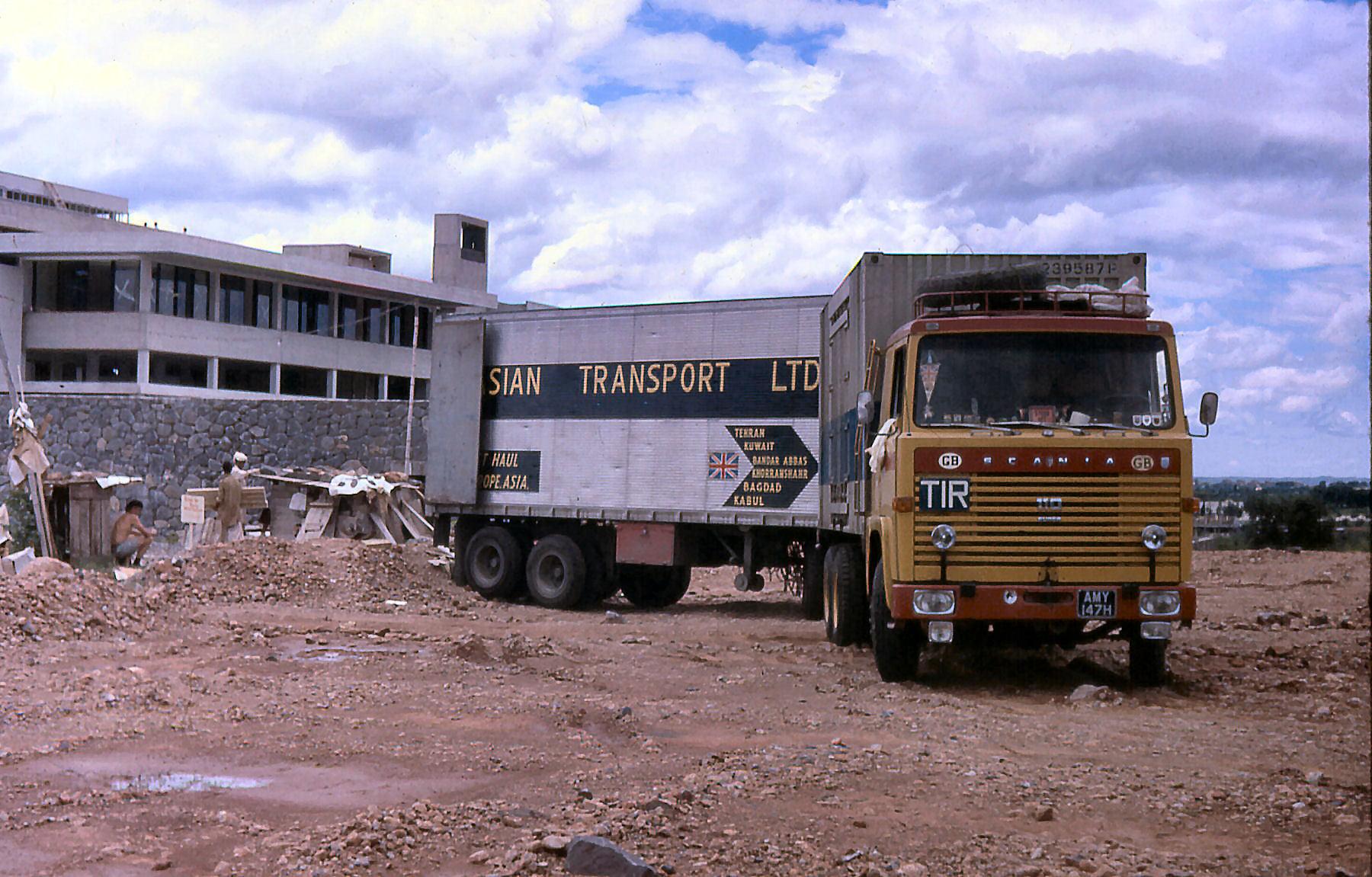 Ian-Tyrrell---Unloading-building-equipment-and-school-supplies-at-Islamabad-University