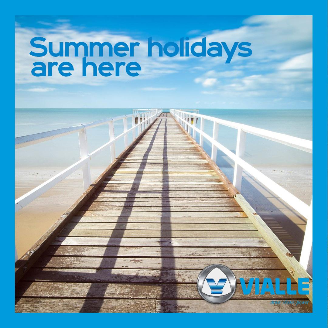 De zomervakanties zijn begonnen!