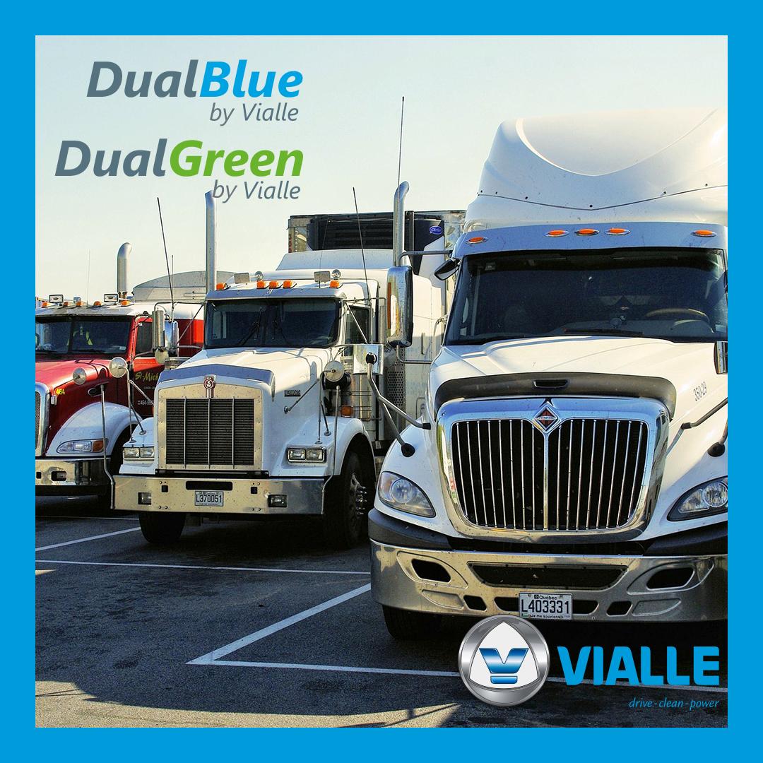 DualFuel for heavy duty vehicles