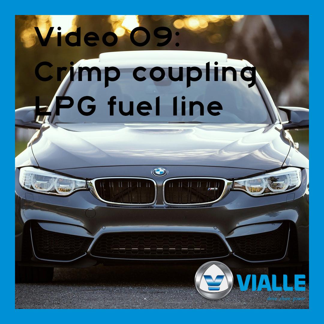 Video 09: Crimp coupling LPG fuel line
