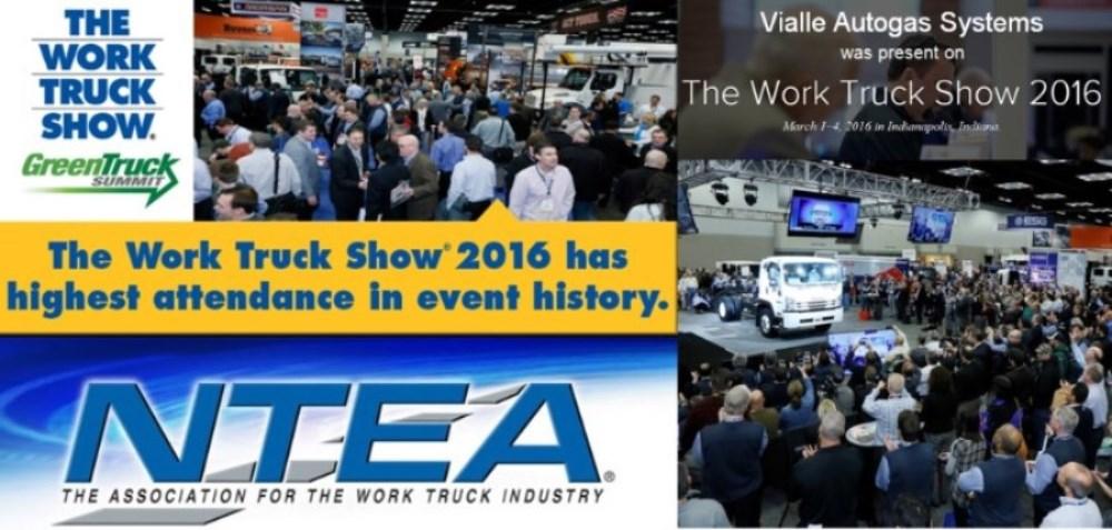 Vialle bezocht de Work Truck Show 2016