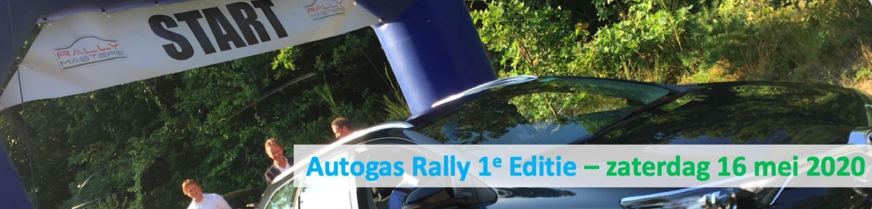 Schrijf je in voor de autogas Rally *UITGESTELD*!